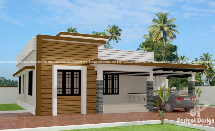 Elegant Two Bedroom Bungalow With A Roof Deck Pinoy House Plans