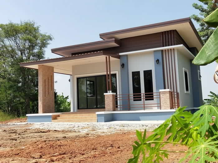 Simple two-bedroom house - Pinoy House Plans
