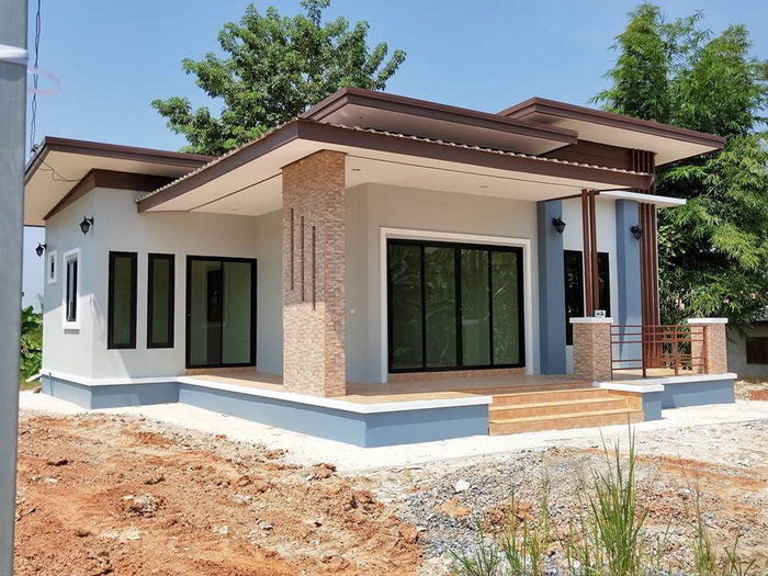 Modern Single Storey House 02 Pinoy House Plans