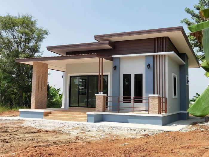 Modern single storey house 06 - Get Small House Simple Dining Room Design Philippines Gif