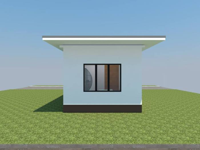 Cottage Like One Bedroom House Pinoy House Plans