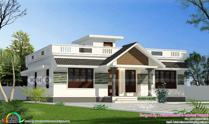 Stunning Three Bedroom Bungalow With Roof Deck Pinoy House Plans
