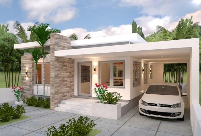 Elegant Three Bedroom Bungalow Pinoy House Plans